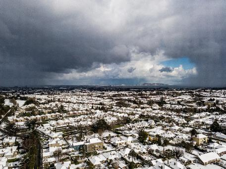 Drone footage aken from Churchtown with a view all the way to Howth. Photo credit: Ciaran McGrath / Instagram @ciarancmcgrath