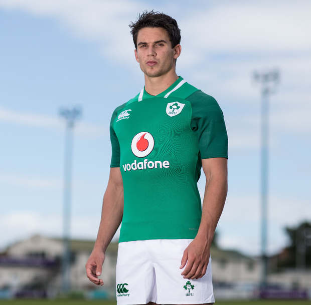 Green machine: Joey Carbery features in official Ireland kit supplier, Canterbury's 'Rising Strength' video series. The three-part series looks at the role that clubs and the youth game play on the pathway of success. The Ireland jersey is available from Canterbury.com