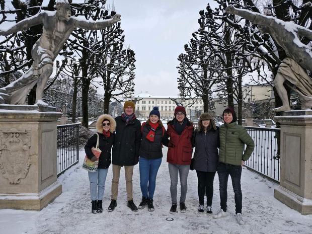 Kate Collins and friends in Munich