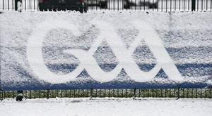 The GAA could be hit with a raft of postponements today. Photo: Sportsfile