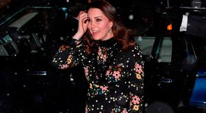 Catherine, Duchess of Cambridge visits the 'Victorian Giants' exhibition at National Portrait Gallery on February 28, 2018 in London, England. (Photo by Jeff Spicer/Getty Images)