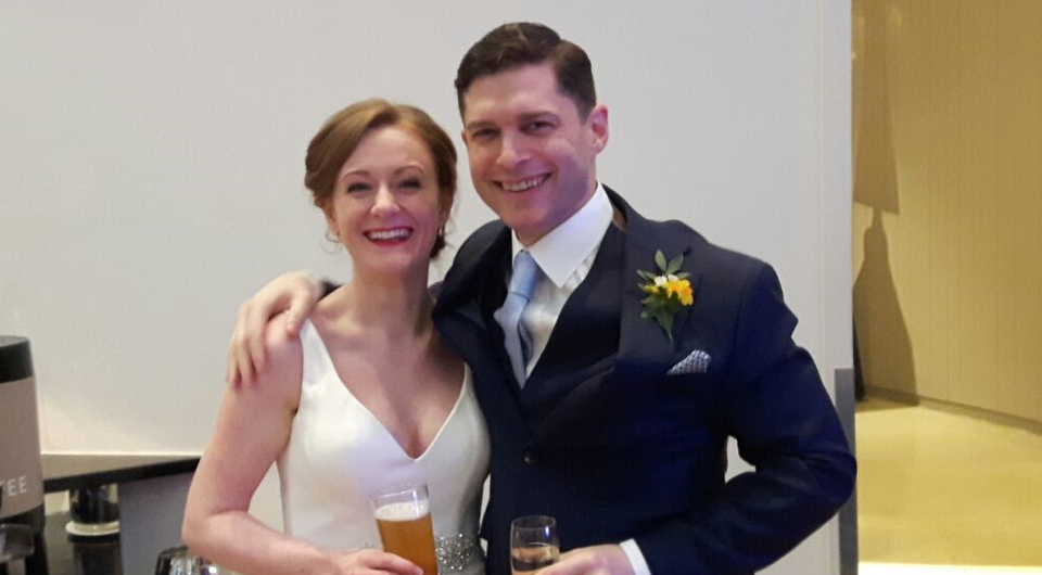 Tara McSwiney and Mark Davies married on Thursday March 1st 2018 | Pic: c/o Liveline