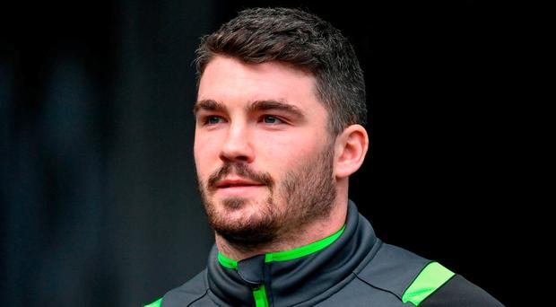Sam Arnold has an exciting future ahead of him for Munster. Photo: Ramsey Cardy/Sportsfile