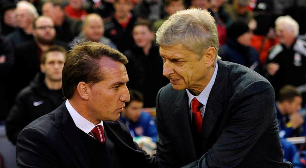 Brendan Rodgers has been linked with replacing Arsene Wenger as Arsenal manager. Photo: John Powell/Liverpool FC via Getty Images