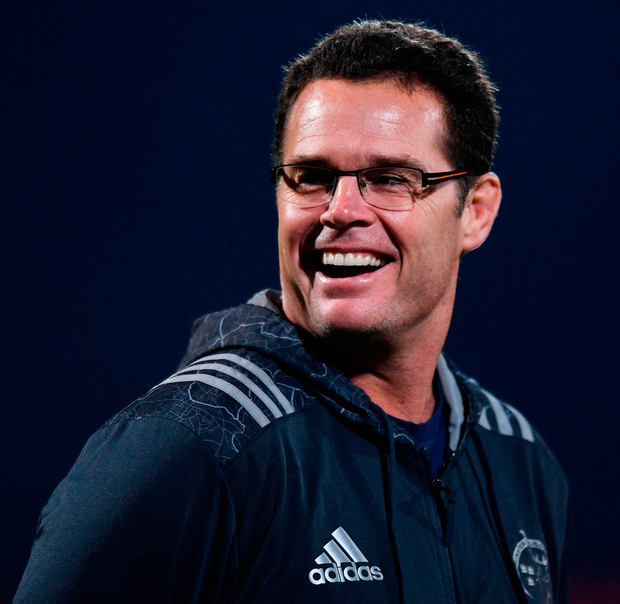 Former Munster director of rugby Rassie Erasmus. Photo: Sportsfile