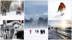 Some scenes from around the country as Storm Emma hit