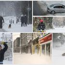 Some scenes from around the country after Storm Emma hit Ireland