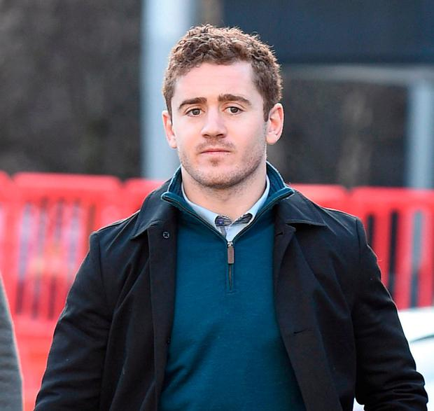 Ireland and Ulster rugby player Paddy Jackson. Photo: Michael Cooper/PA Wire