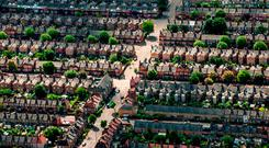 Prices for homes and apartments surged by almost 12pc here last year. This was the fifth year of strong growth in prices, according to the Global Property Guide study. Stock photo: PA