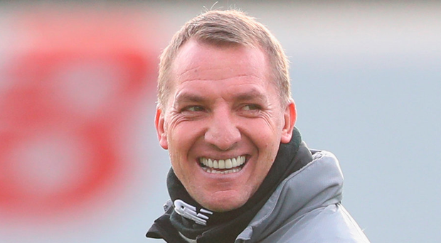 Celtic boss Brendan Rodgers. Photo: Getty Images