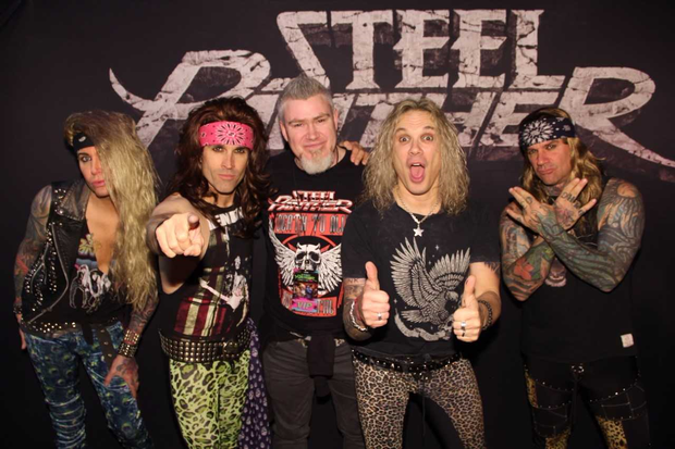 Steel Panther invited an Irish animator to create a video for their song
