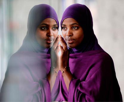 Ifrah Ahmed, International Person of the Year, is an activist against FGM. Photo: Julian Behal