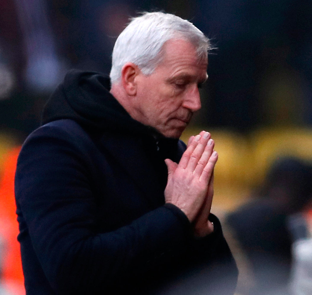 Pardew's future is in question Photo: Reuters
