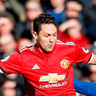 Manchester United's Nemanja Matic Photo: PA