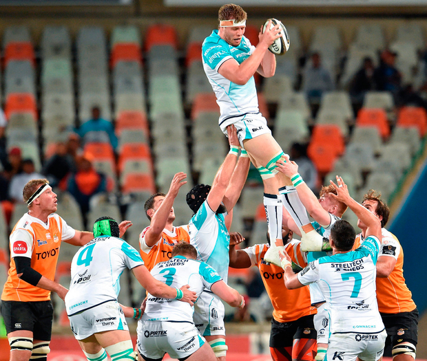 James Cannon of Connacht wins a lineout Photo: Sportsfile
