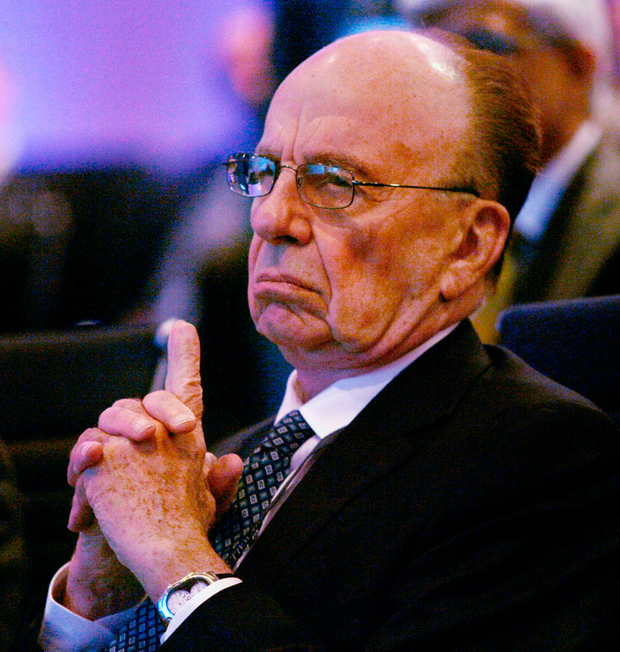 Follow me: Rupert Murdoch's philosophy of taking political stances on national issues has become ingrained in the mindset of his media outlets.