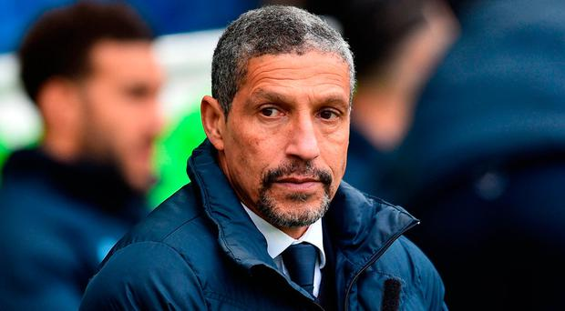 Hughton has moulded this team into a fighting force, but one now scoring plenty of goals and showing flashes of creativity. Photo: AFP/Getty Images