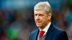 Arsene Wenger: 'At the moment, my future is not my main worry.' Photo: Christopher Lee/Getty Images