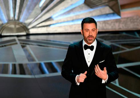 Academy Awards: Kimmel mentions Weinstein, offers award for shortest speech, in monologue