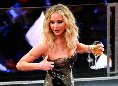 Jennifer Lawrence during the 90th Annual Academy Awards at the Dolby Theatre at Hollywood & Highland Center on March 4, 2018 in Hollywood, California. (Photo by Kevin Winter/Getty Images)