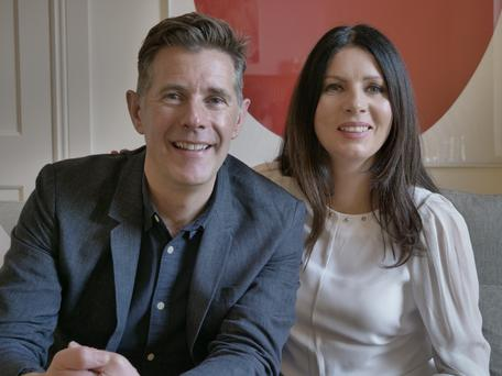 Dermot and Christine in happier times (after the project was completed), Room to Improve, Sundays RTE One 9.30pm