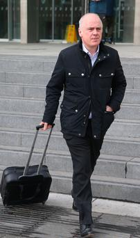 David Drumm is accused of conspiracy to defraud. Picture: Collins