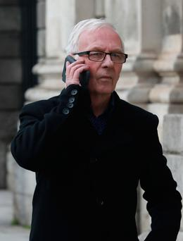 Taxi driver Anthony Fannin pleaded not guilty to the charge. Picture: Collins