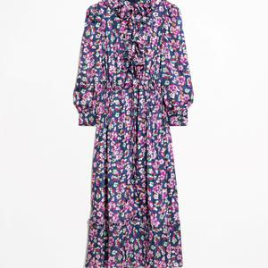Floral print maxi dress, €125, & Other Stories