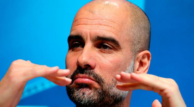 CL: Guardiola to wear yellow ribbon at Champions League again