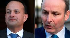 Leo Varadkar accused Micheal Martin of being 'venomous'