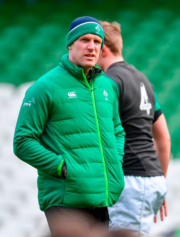 Under 20 assistant coach Paul O'Connell