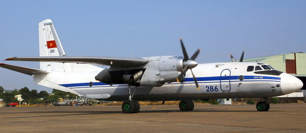 An example of the An-26 model aircraft. Photo: AP