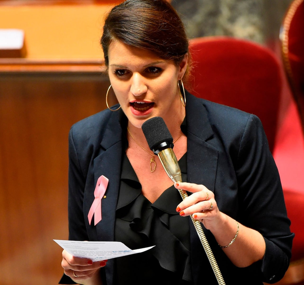 France's Gender Equality Minister Marlène Schiappa
