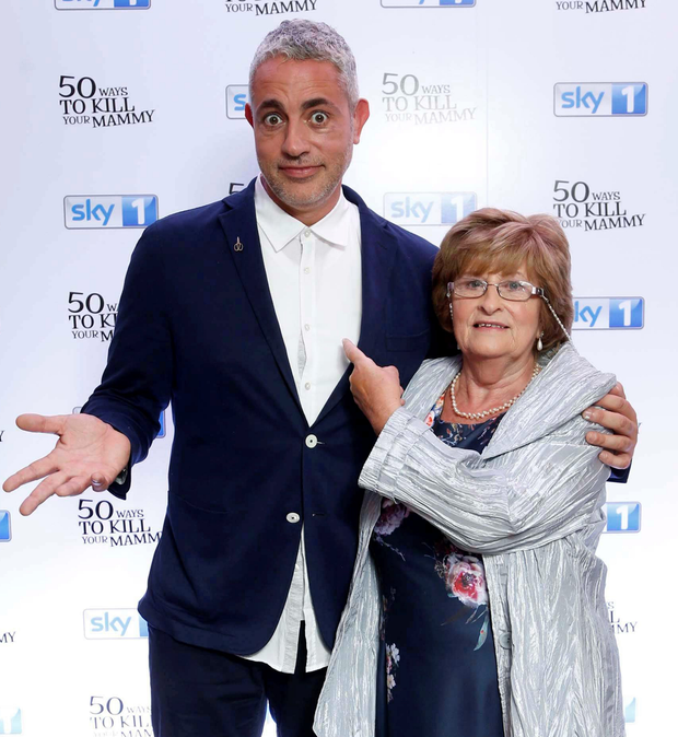 On the shy side: Nancy taught Baz to speak up