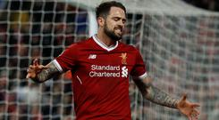 Danny Ings: Missed opportunity. Photo: Lee Smith