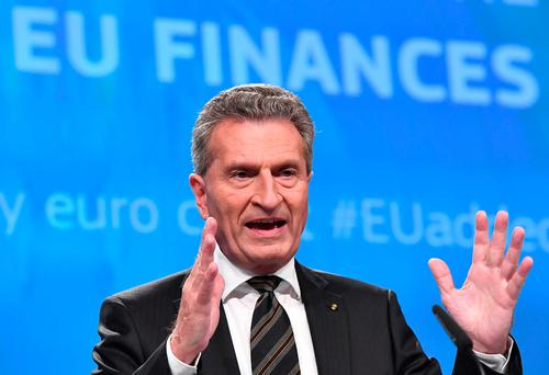 Günther Oettinger: 'Acceptable' CAP cut would be 5-10pc