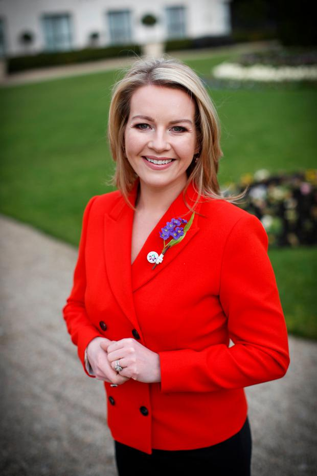 Claire Byrne is the new ambassador for the Irish Kidney Association. Photo: Conor McCabe
