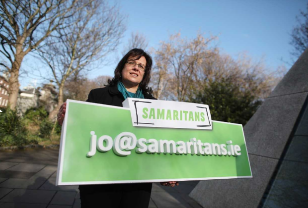 Samaritans Ireland launched the new email address jo@samaritans.ie today.