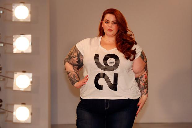 0dce8224a06 Tess Holliday attends the SimplyBe  Curve Catwalk  photocall on September  14
