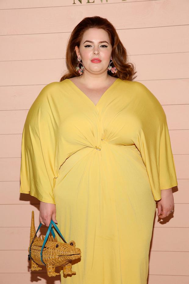 b61b544294d Model Tess Holliday attends the Kate Spade presentation during New York  Fashion Week  The Shows