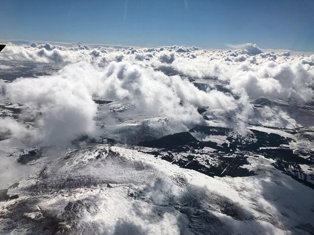 A stunning aerial photo of snow-covered Wicklow Photo: Jerry Kennelly