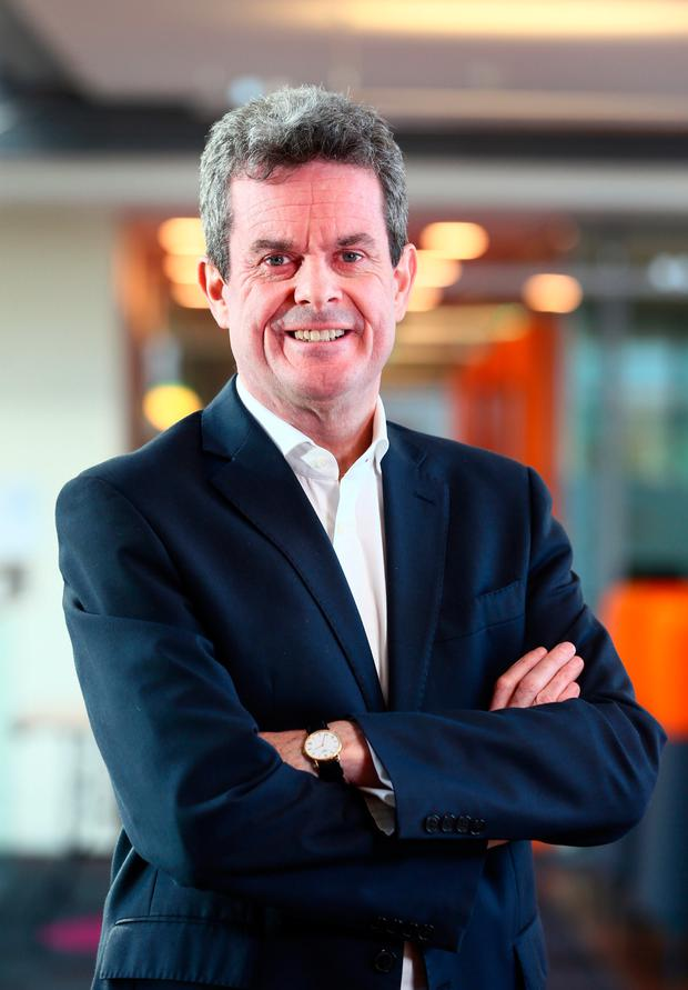 Feargal O Rourke, Managing Partner at PwC pictured at PwC offices on Spencer Dock.Picture Credit:Frank Mc Grath 7/3/18