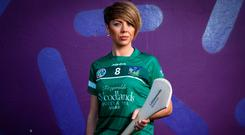 Sarah Carey believes that beating Kilkenny should give her Limerick team lots of confidence Photo: INPHO/James Crombie