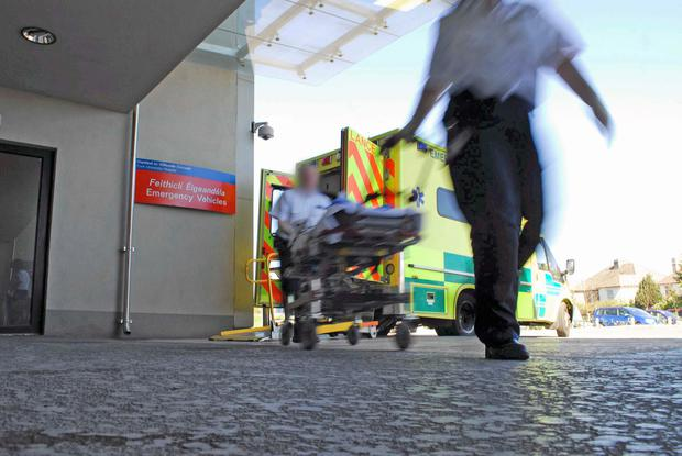 Man dies due to A&E overcrowding, says hospital trust's medical director
