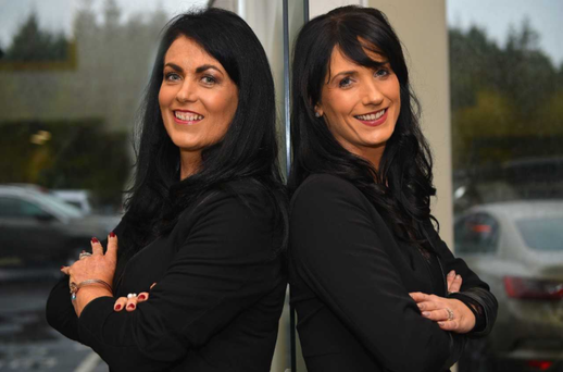 Karen Burke (left) and Pauline Burke Ryan (right) run JJ Burke Sales in Mayo.