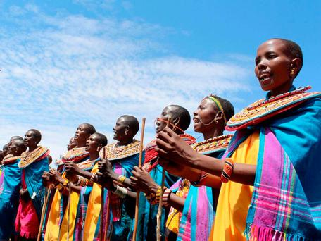 In the grasslands of northern Kenya, a small village called Umoja acts as a refuge for women – and only women (Photo: Getty)