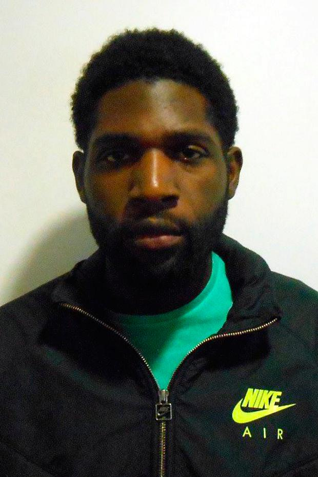 Photo issued by the London Metropolitan Police of Sanchez Edwards, who has been sentenced to five years and eight months. Photo: Metropolitan Police/PA Wire