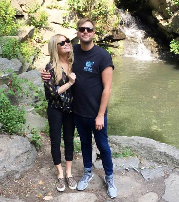 Laura Whitmore and Iain Sterling. Picture: Instagram