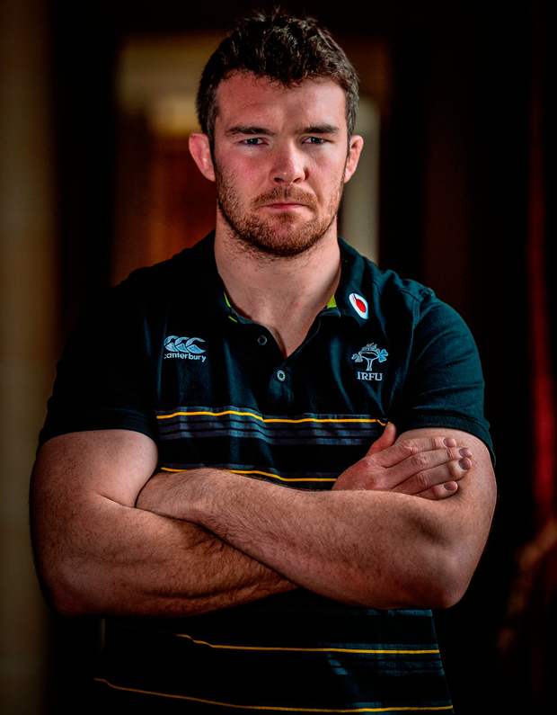 Munster captain Peter O'Mahony Photo: Sportsfile