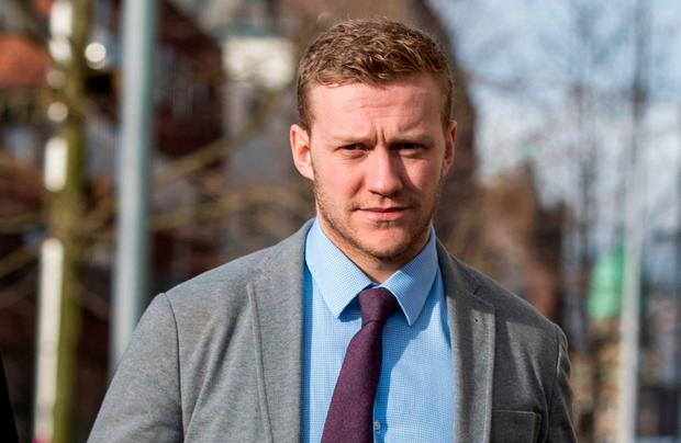 Rugby stars' friend gave false story to police, rape trial told
